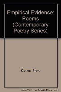 Empirical Evidence: Poems