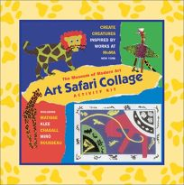 The Museum of Modern Arts Art Safari Collarge Activity Kit