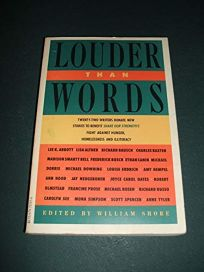 Louder Than Words: 22 Authors Donate New Stories to Benefit