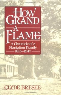 How Grand a Flame: A Chronicle of a Plantation Family