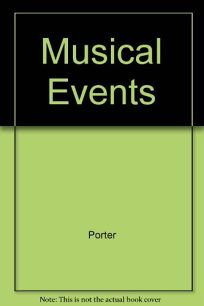 Musical Events: A Chronicle