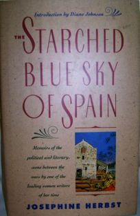 The Starched Blue Sky of Spain