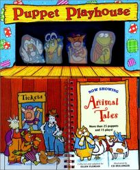 Puppet Playhouse: Animal Tales [With 36 Puppets]