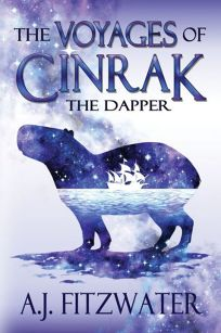 Sci-Fi/Fantasy/Horror Book Review: The Voyages of Cinrak the Dapper by A.J. Fitzwater. Queen of Swords, $2.99 e-book (184p) ISBN 978-1-73258-337-5