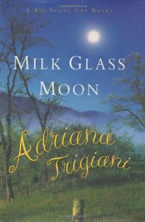 MILK GLASS MOON