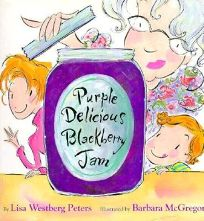 Purple Delicious Blackberry Jam