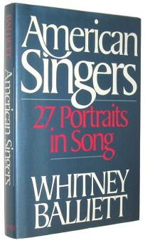 American Singers: Twenty-Seven Portraits in Song