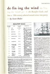 DEFINING THE WIND: The Beaufort Scale