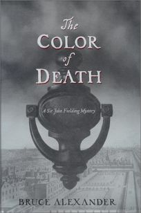 The Color of Death: A Sir John Fielding Mystery