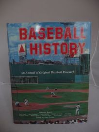 Baseball History: An Annual of Original Research