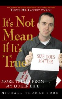 Its Not Mean If Its True: More Trials from My Queer Life