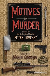 Fiction Book Review Motives For Murder A Celebration Of border=